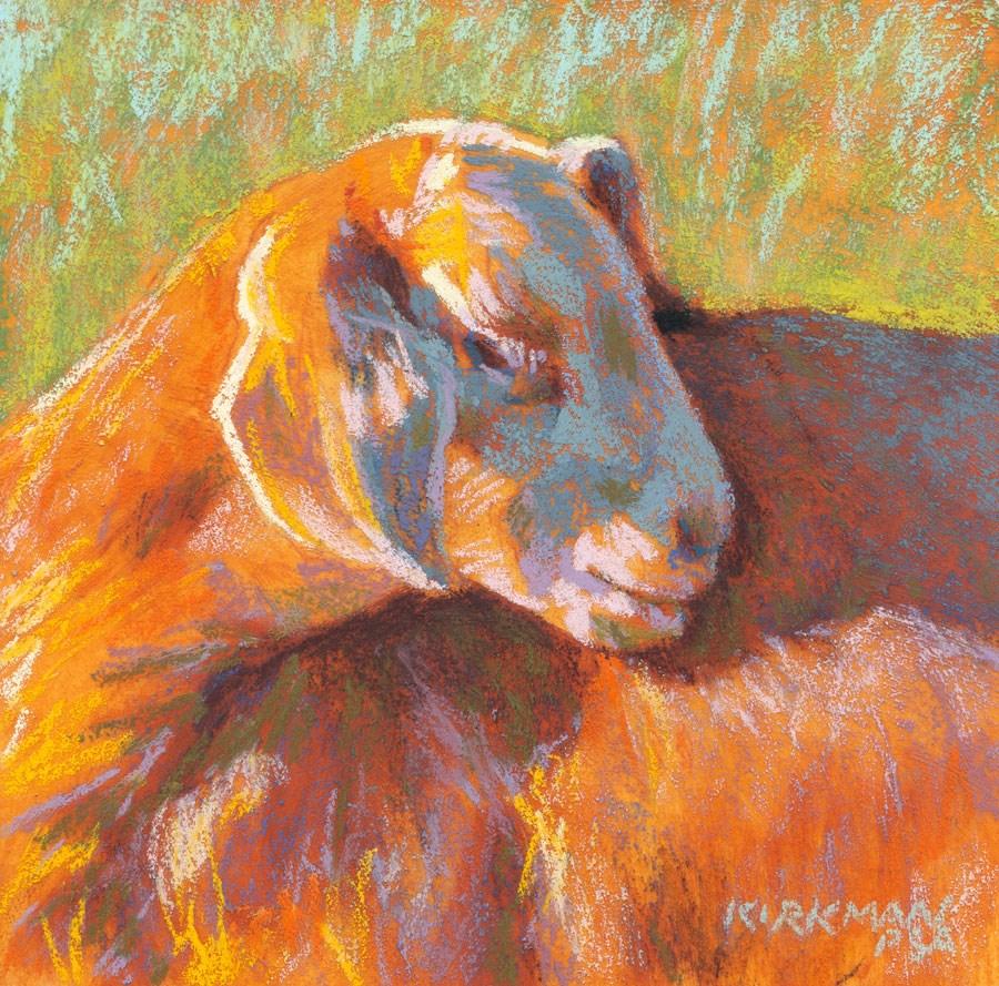 """Koza"" original fine art by Rita Kirkman"
