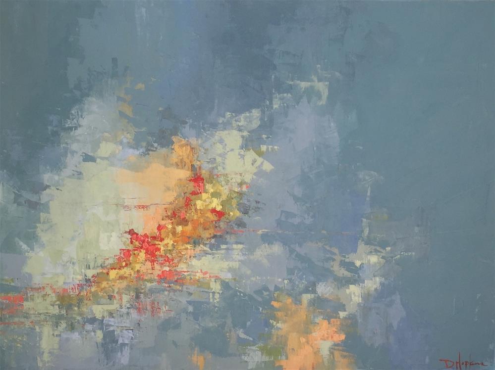 """""""Breakthrough"""" original fine art by Denise Hopkins"""