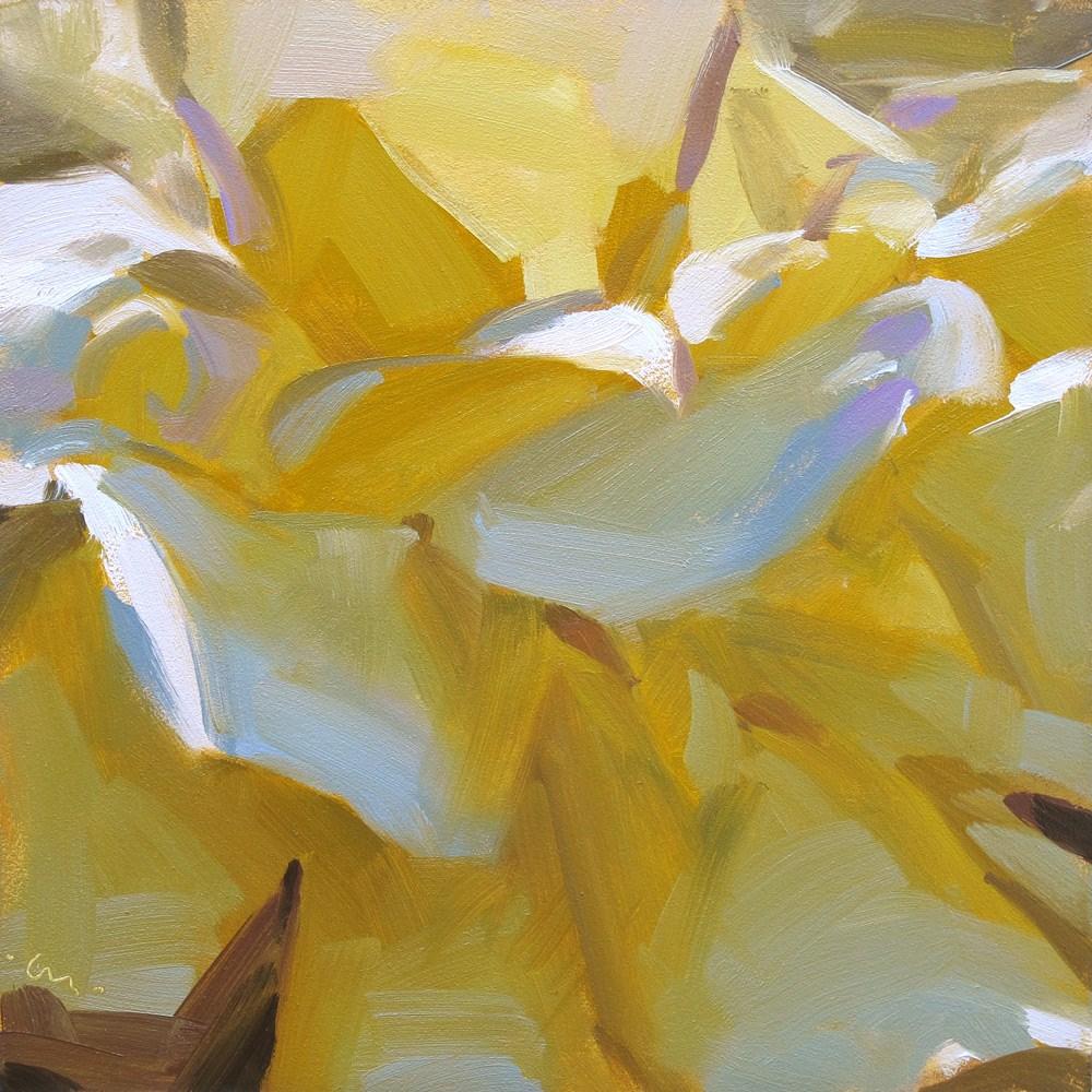 """Crazy Petals"" original fine art by Carol Marine"