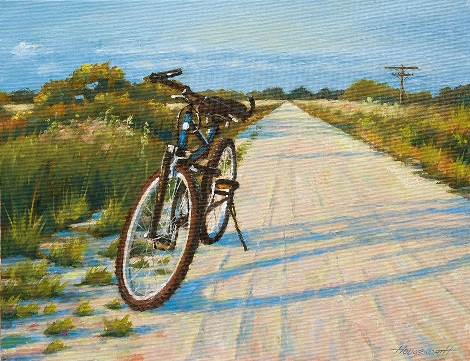 """Rails to Trails"" original fine art by Terry Houseworth"