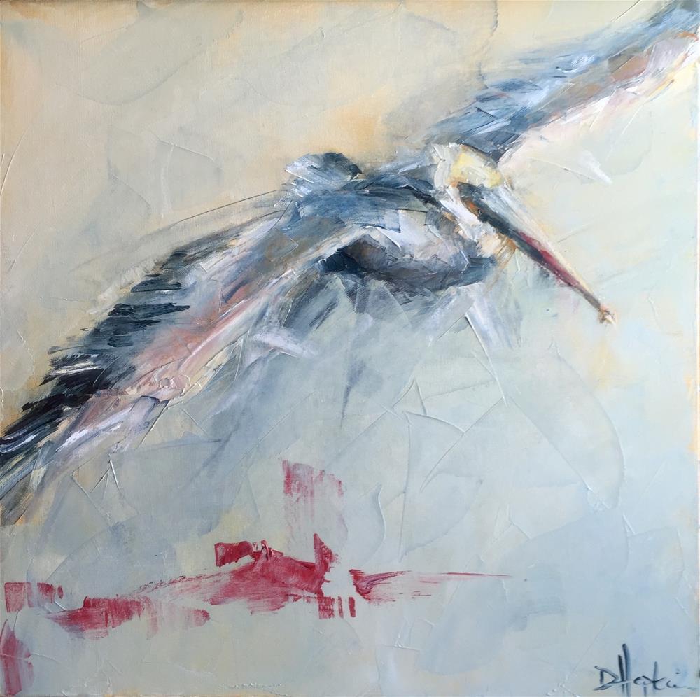 """Long Road Ahead"" original fine art by Denise Hopkins"
