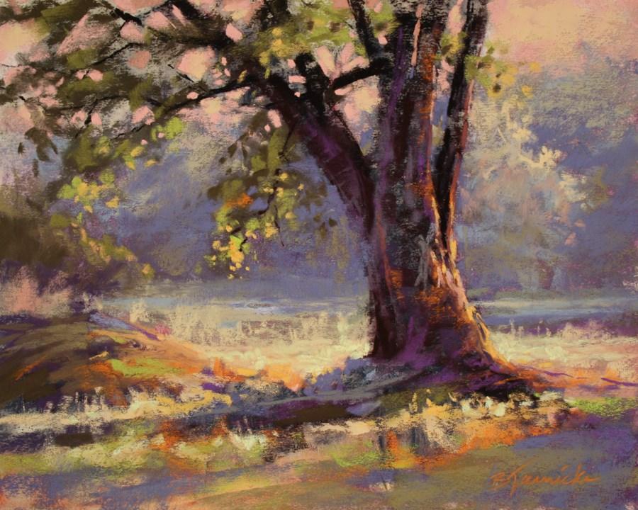 """""""Summer Light"""" original fine art by Barbara Jaenicke"""