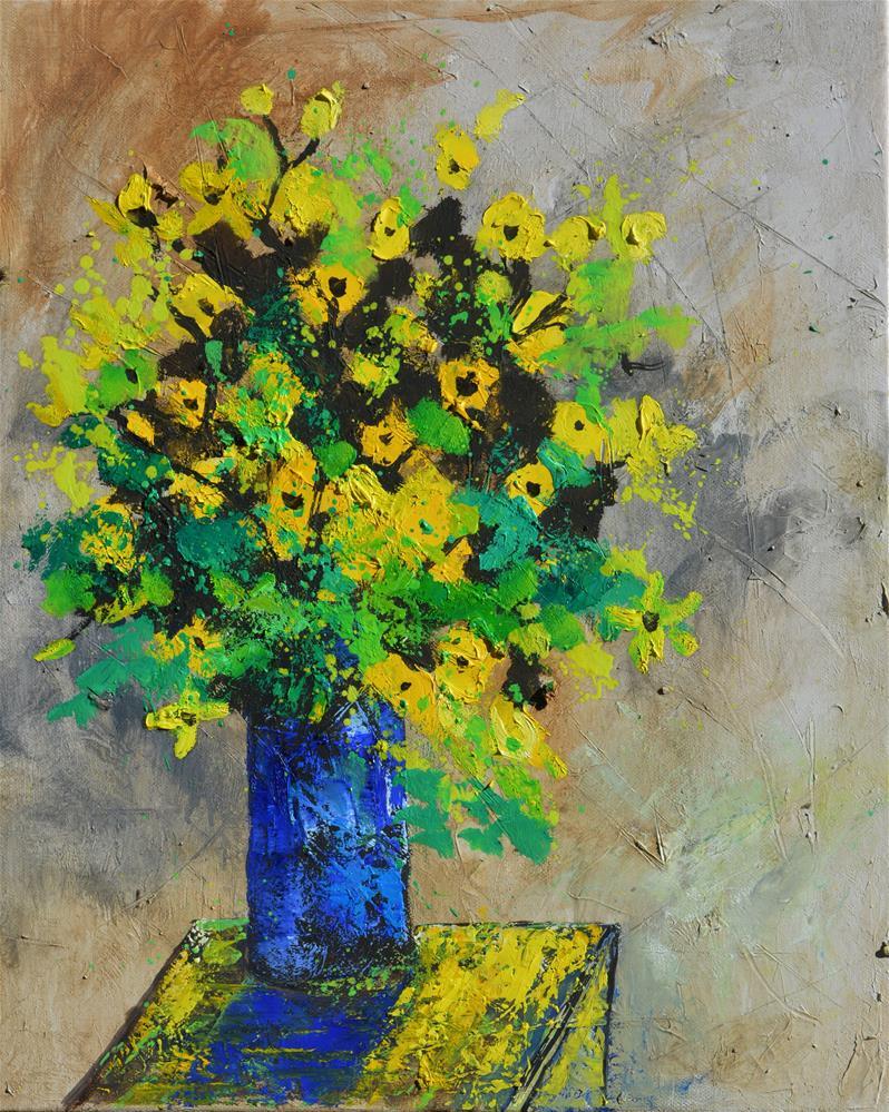 """""""still life 456180"""" original fine art by Pol Ledent"""