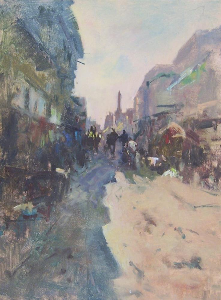 """Cairo in the Heat"" original fine art by John Shave"