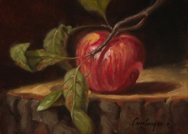 """Last of the Season"" original fine art by David Capalungan"