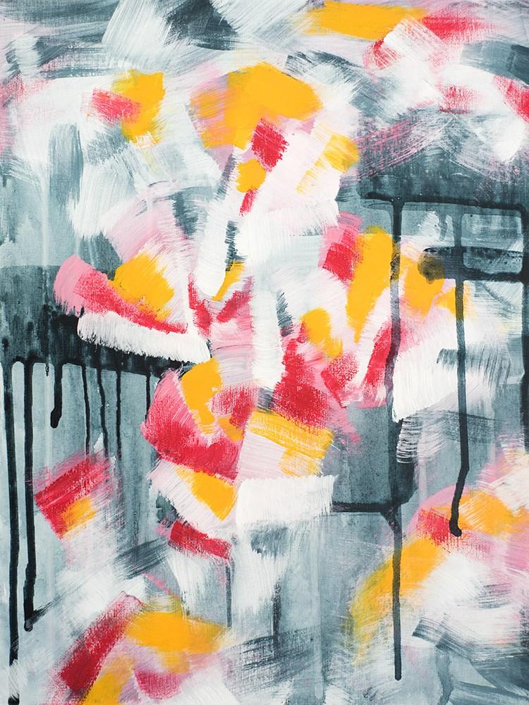 """Pink Magnolia"" original fine art by Franziska Schwade"