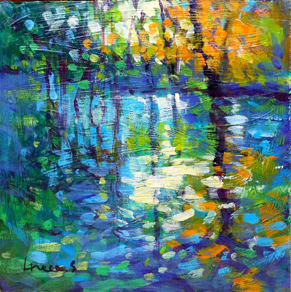 """Light in water"" original fine art by salvatore greco"