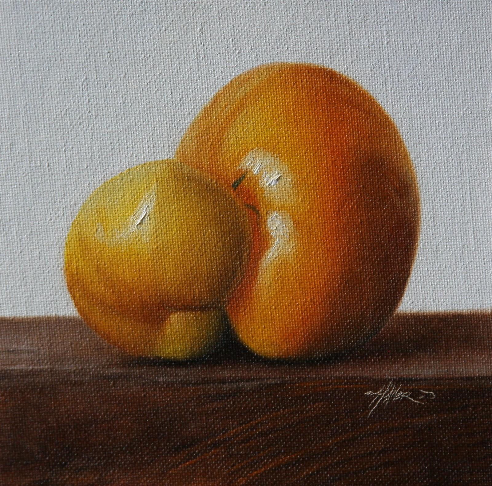 """""""HeirloomTomato"""" original fine art by Jonathan Aller"""