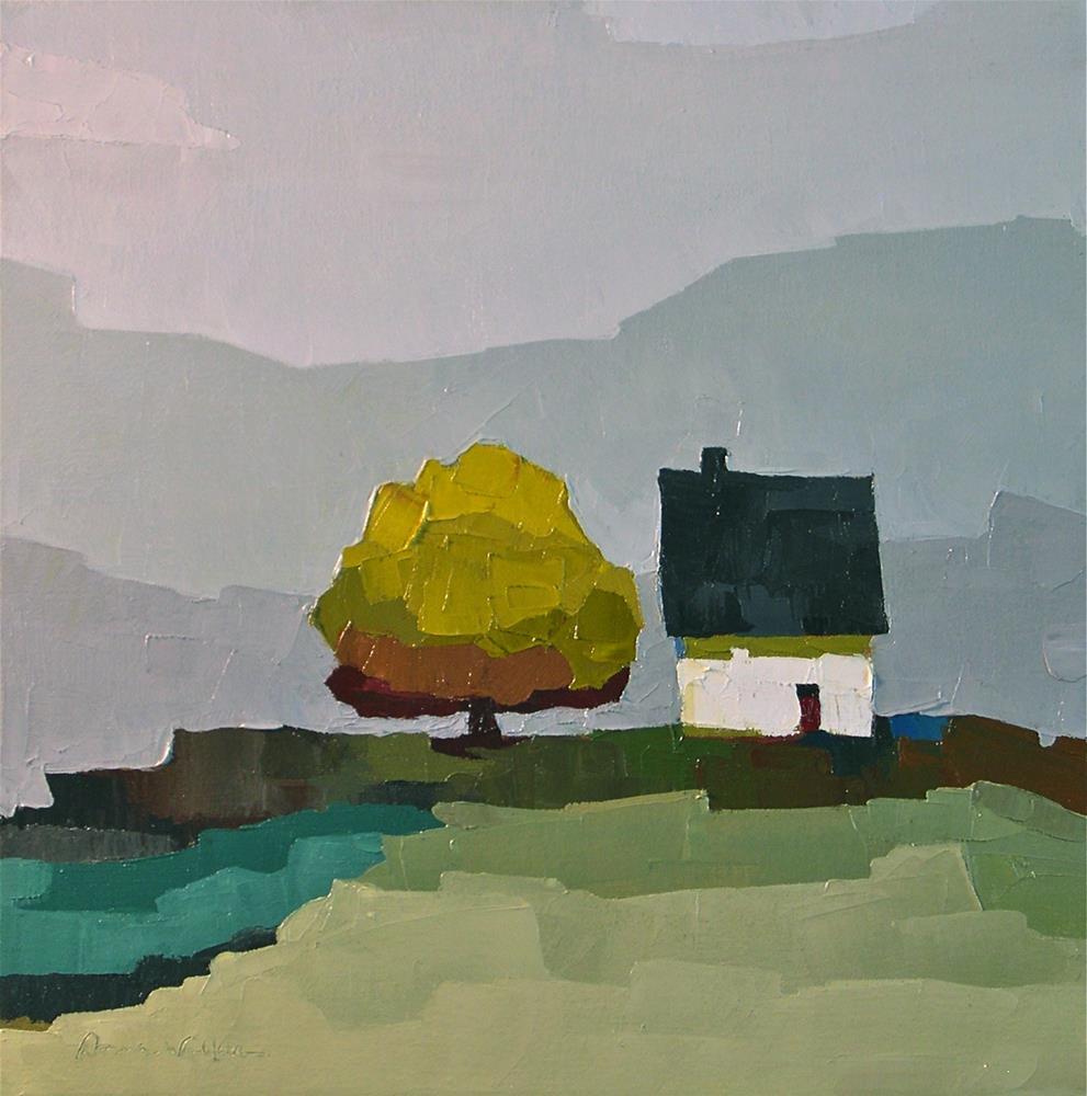 """""""Somewhere to Begin"""" original fine art by Donna Walker"""