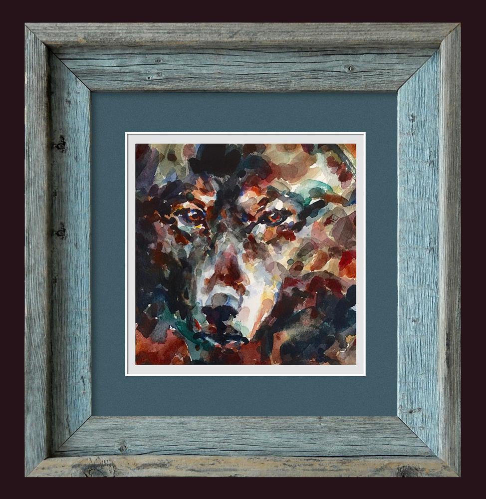 """Lobo"" original fine art by Stephen Ravenscraft"