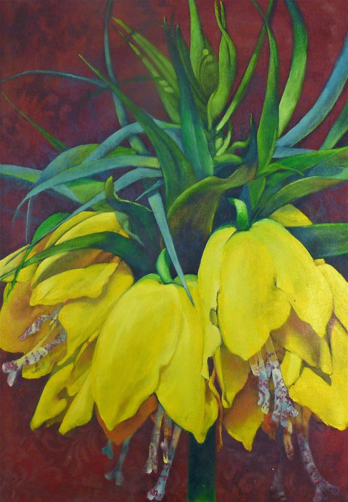 """Frittalaria"" original fine art by Sharman Owings"