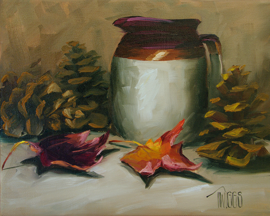 """Autumn Colors"" original fine art by Lori Twiggs"