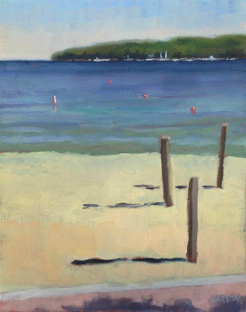 """Sister Bay"" original fine art by Eric Larson"