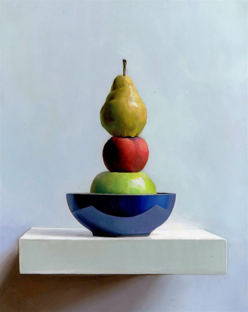 """""""Menage A Trois"""" original fine art by Brian Burt"""