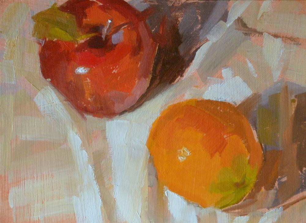 """Just Like Apples and Oranges"" original fine art by Ron Ferkol"
