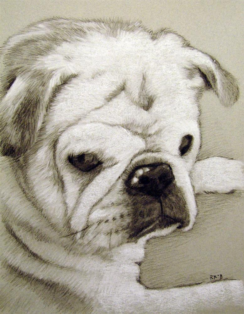 """A Pencil Portrait"" original fine art by Rita Kirkman"