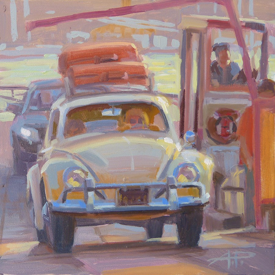 """30 in 30 - Cars and Dogs - Day 1"" original fine art by Anette Power"