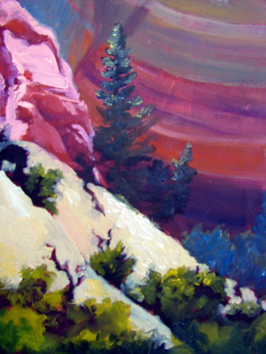 """Near Ghost Ranch, NM"" original fine art by Nancy Paris Pruden"