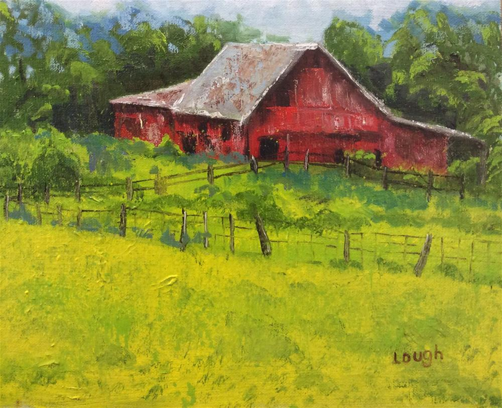 """Indiana Heritage"" original fine art by Charlotte Lough"