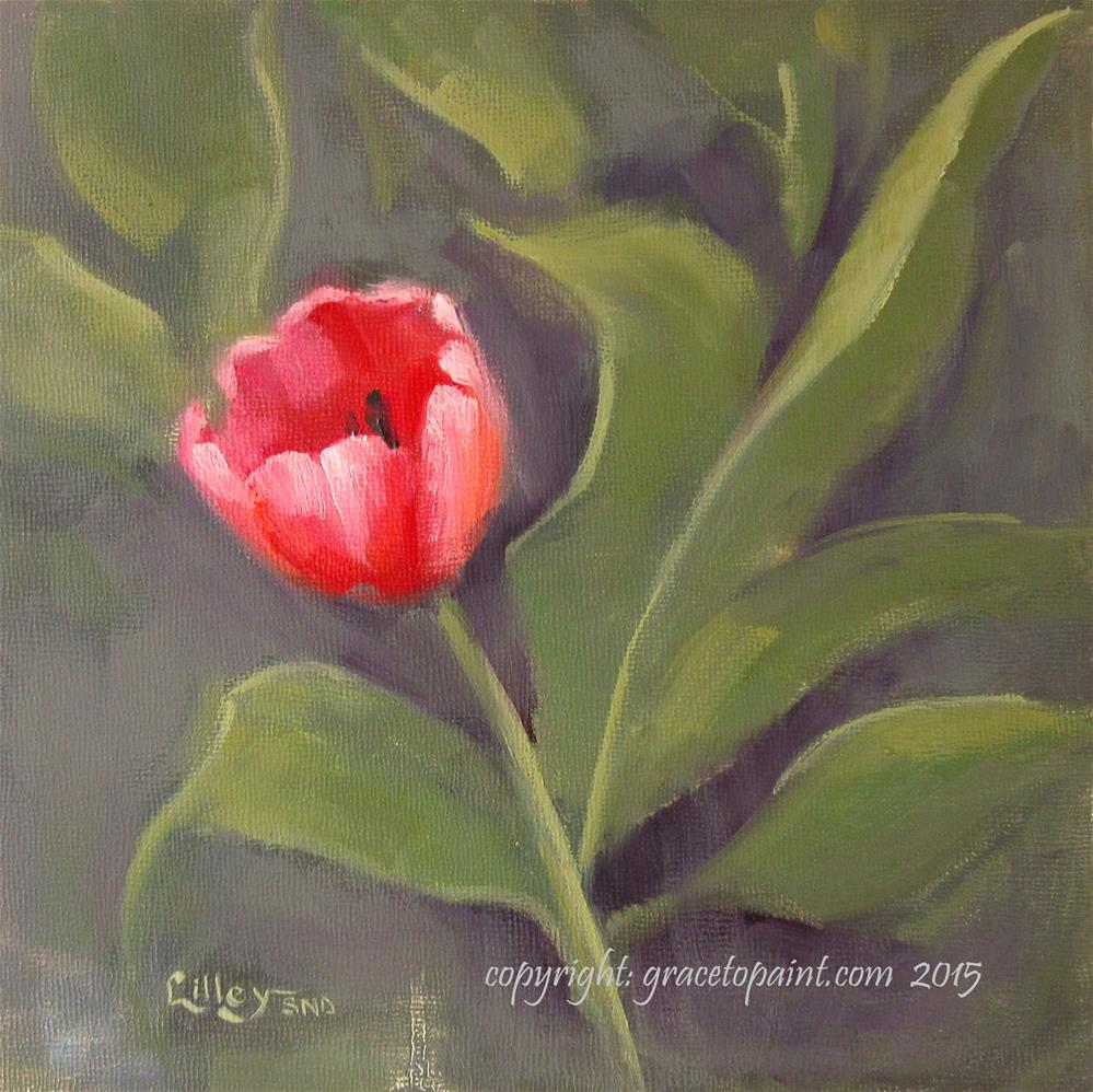 """Tulip"" original fine art by Maresa Lilley"