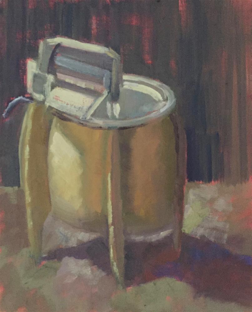 """Through The Wringer"" original fine art by Pam Holnback"