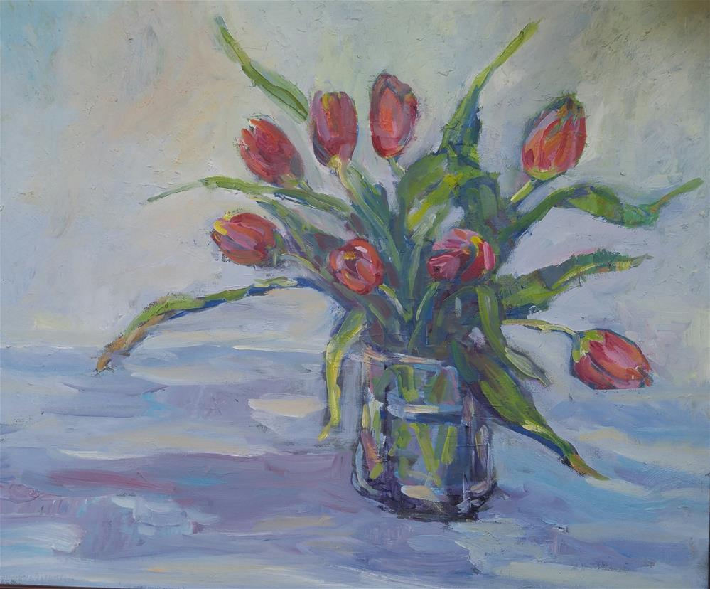 """Tulipio"" original fine art by angela scully"