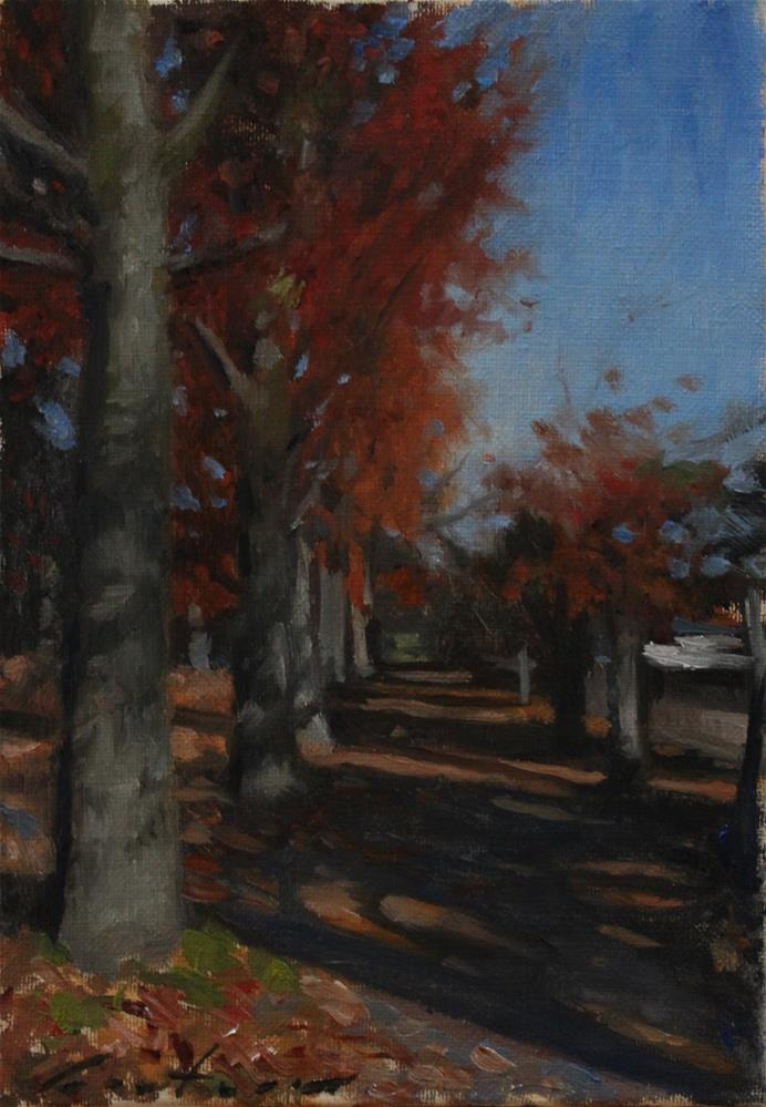 """""""Autumn Morning"""" original fine art by Phil Couture"""