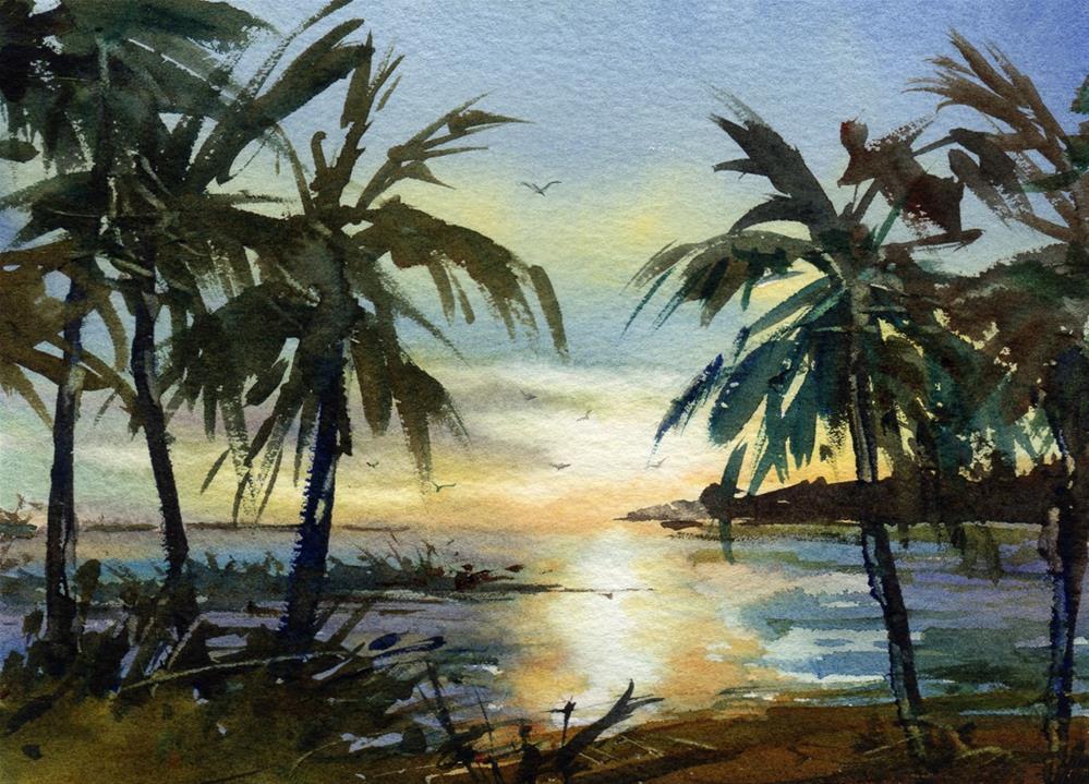 """Kismet"" original fine art by Linda Henry"