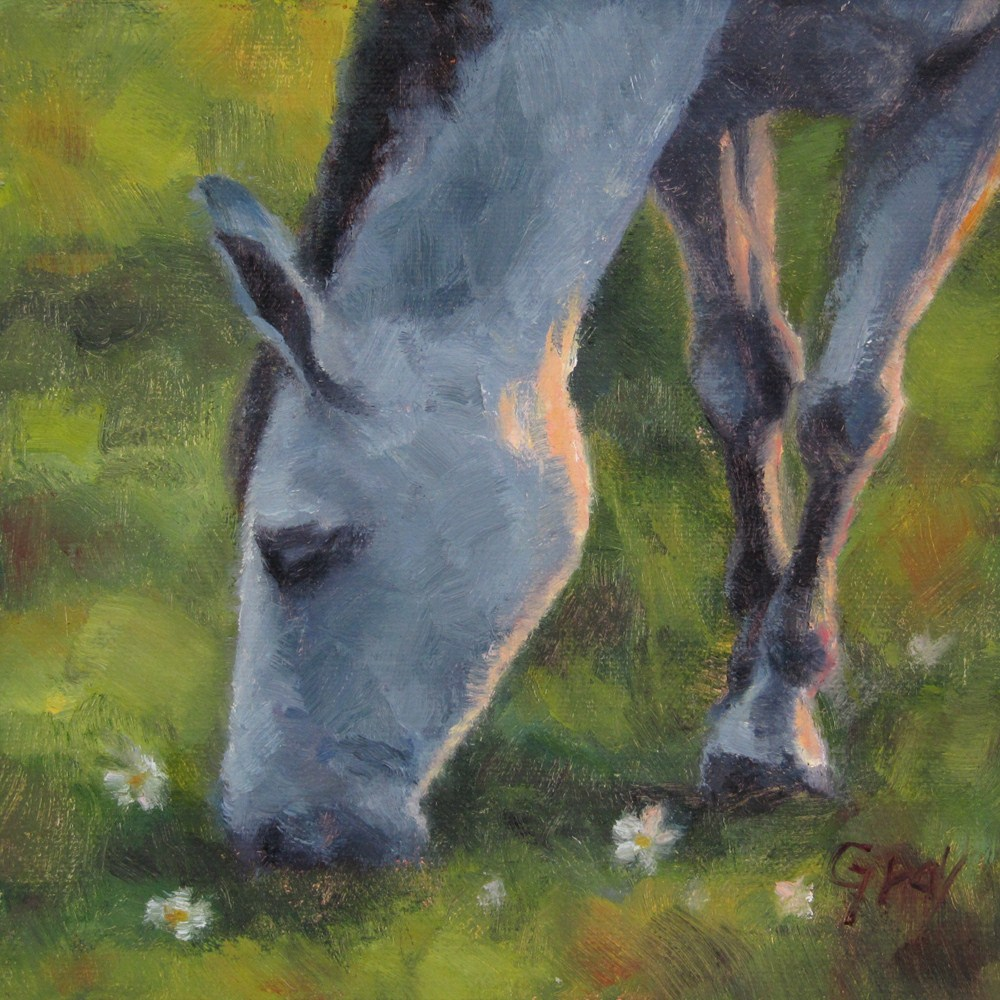 """Morning Rendezvous No.2"" original fine art by Naomi Gray"