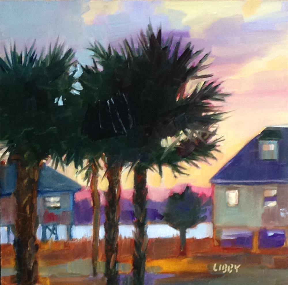 """Gulf Morning"" original fine art by Libby Anderson"