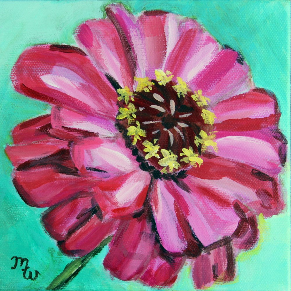 """SOLD Elizabeth"" original fine art by Merrill Weber"