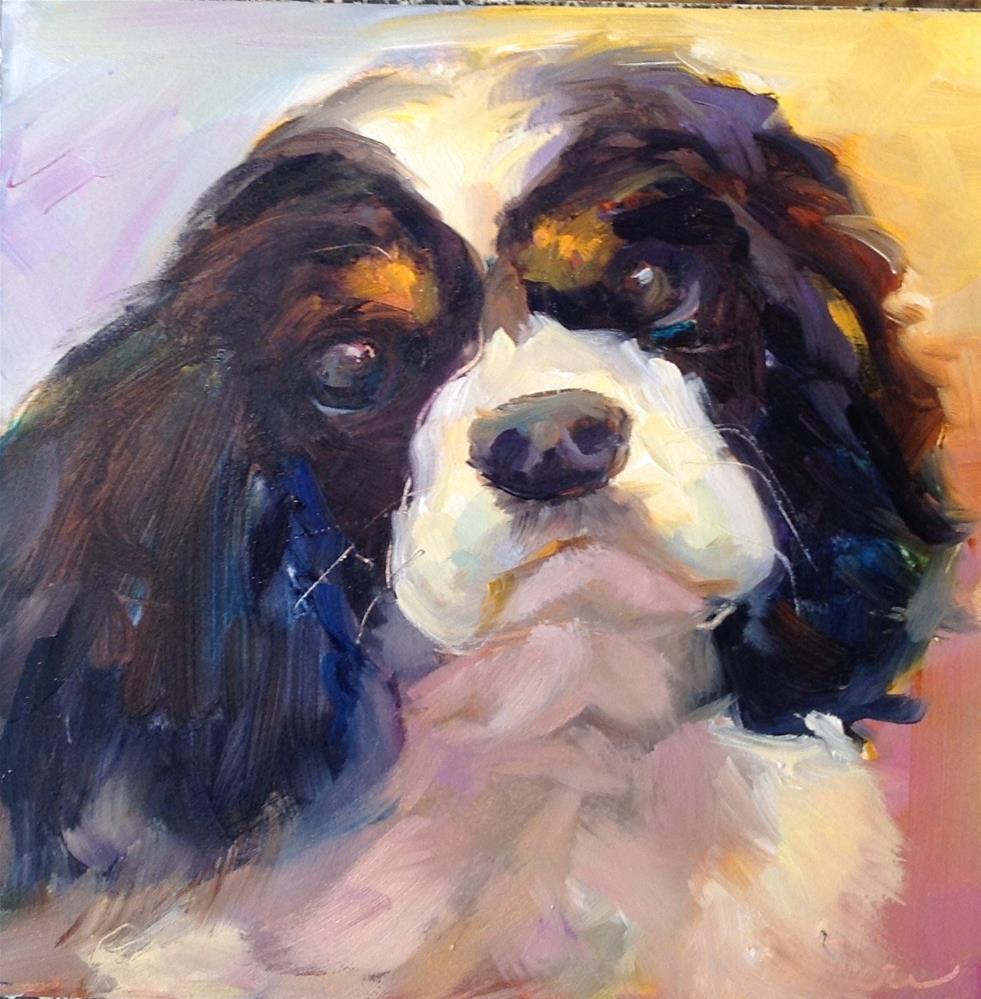 """""""Lucy"""" original fine art by Pat Macri"""