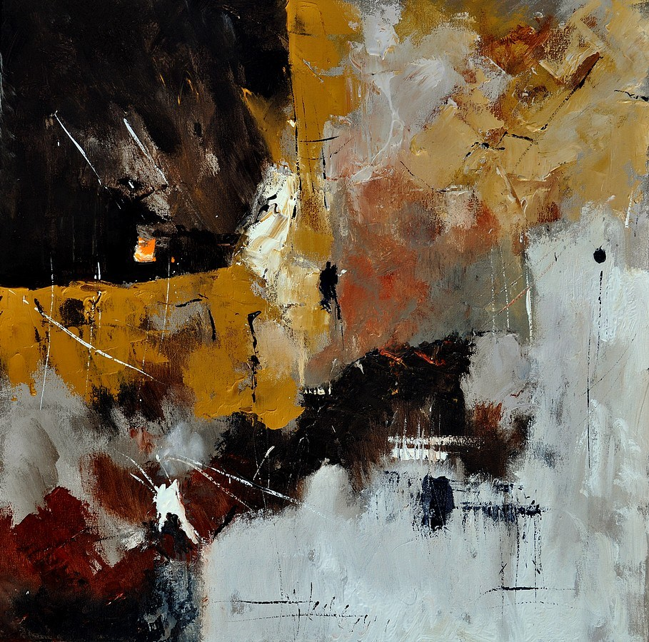"""abstract 7721903"" original fine art by Pol Ledent"