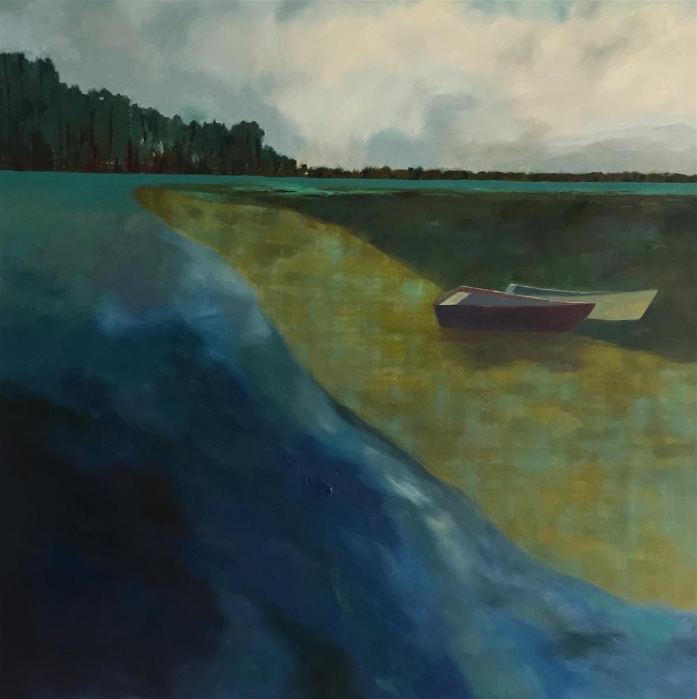 """""""Resting"""" original fine art by Janet Bludau"""