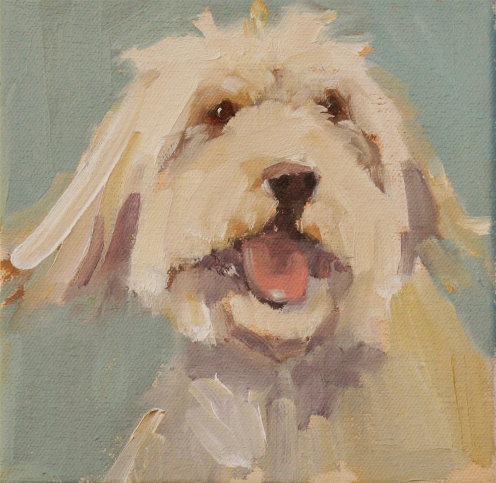 """big smile"" original fine art by Carol Carmichael"