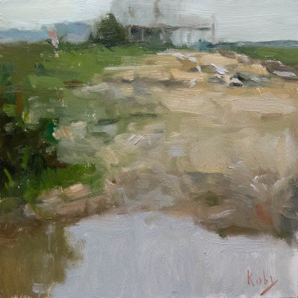 """Sand Lot"" original fine art by Randall Cogburn"