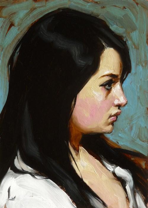 """Silken Ink"" original fine art by John Larriva"