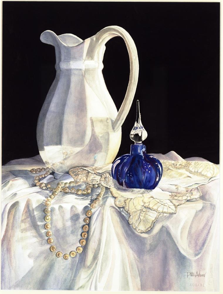 """Perfume and Lace"" original fine art by Patti Adams"