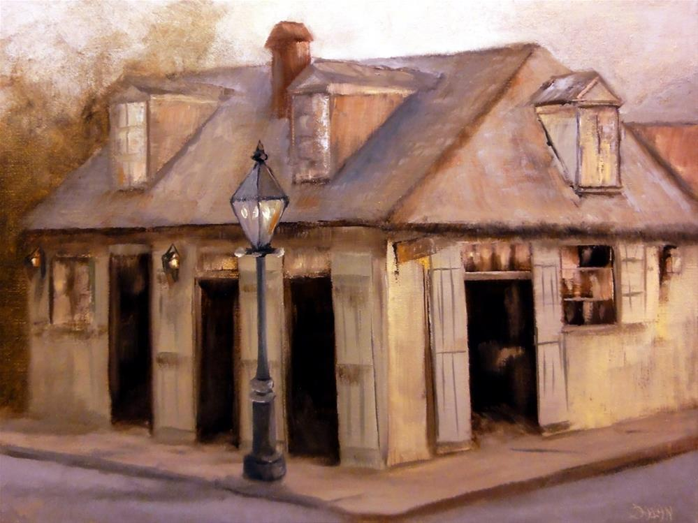 """Blacksmith Shop Bar French Quarter New Orleans"" original fine art by Dalan Wells"