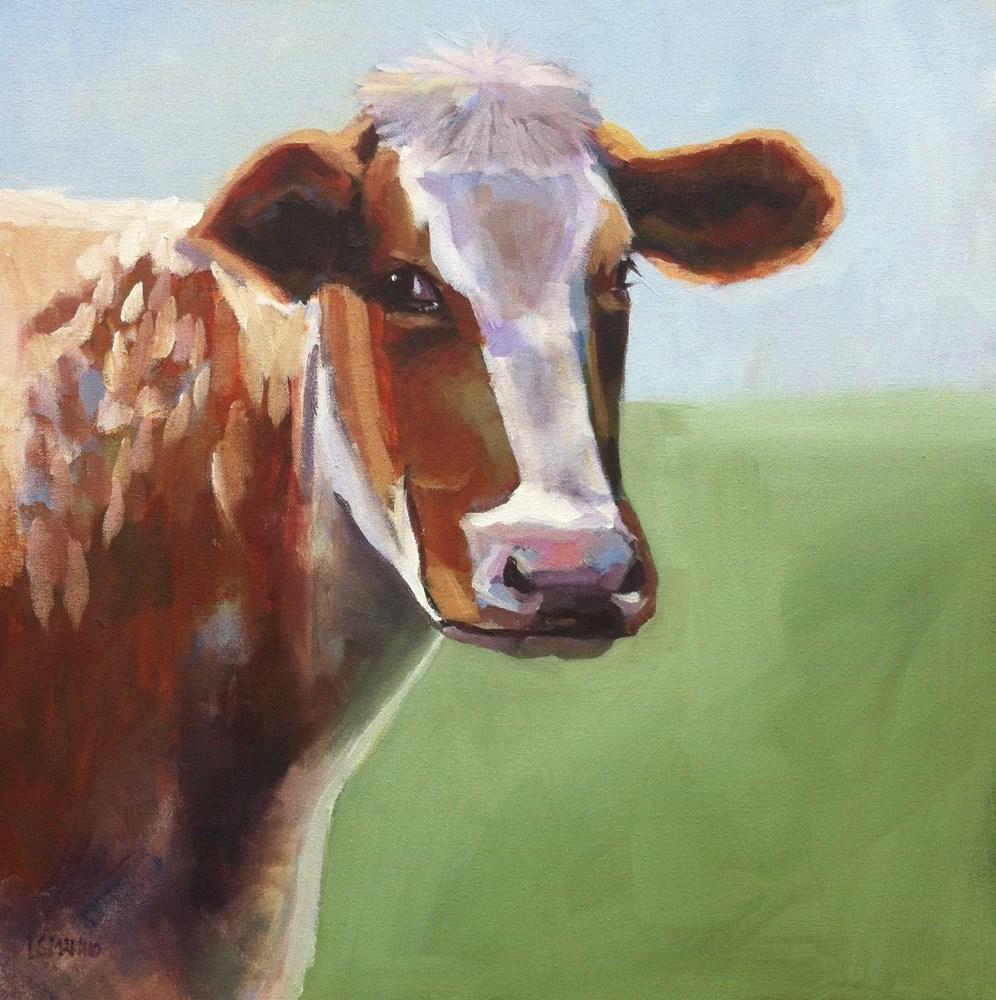 """Betsy"" original fine art by Linda Marino"