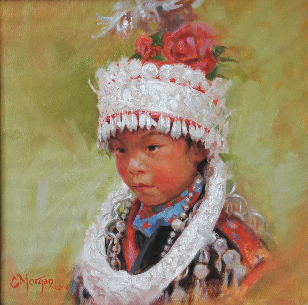 """To Such as These: Miao of China"" original fine art by Cecile W. Morgan"