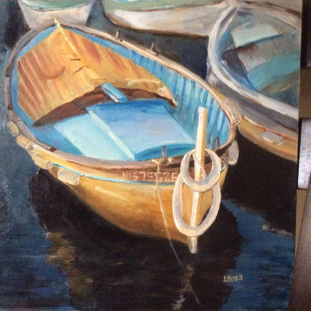 """Staying Afloat"" original fine art by Charlotte Lough"