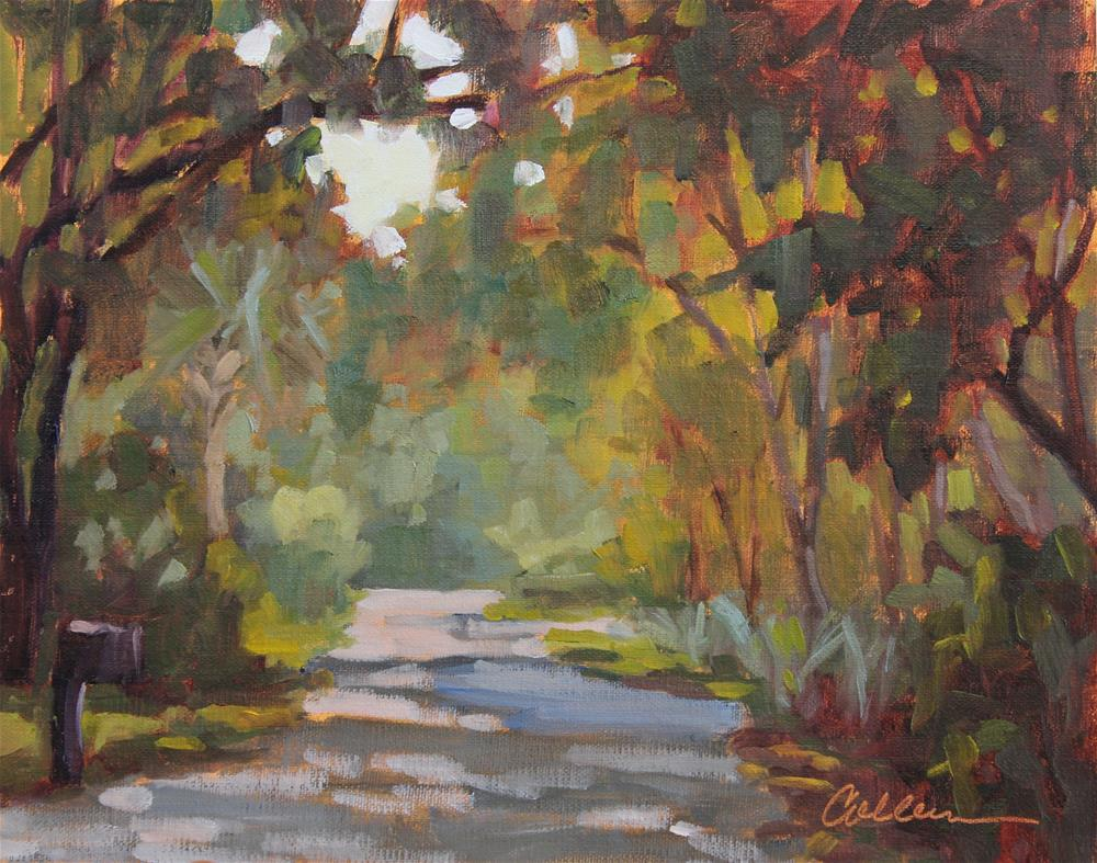"""Sandy Lane"" original fine art by Colleen Parker"