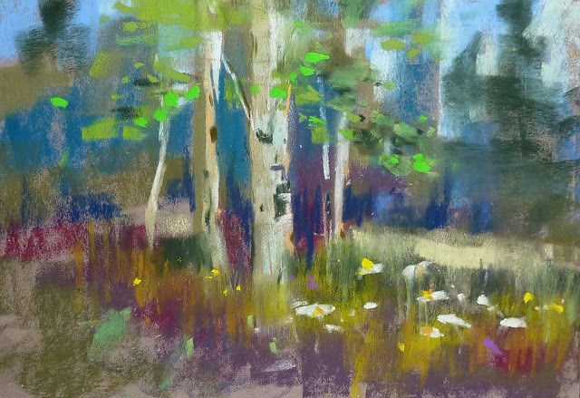 """A Great Tip for Plein Air with Pastels"" original fine art by Karen Margulis"
