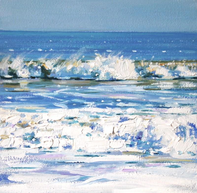 """Windswept"" original fine art by Ken Devine"