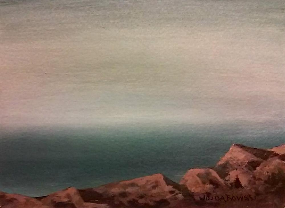 """Coastal Maine #3"" original fine art by Joe Wojdakowski"