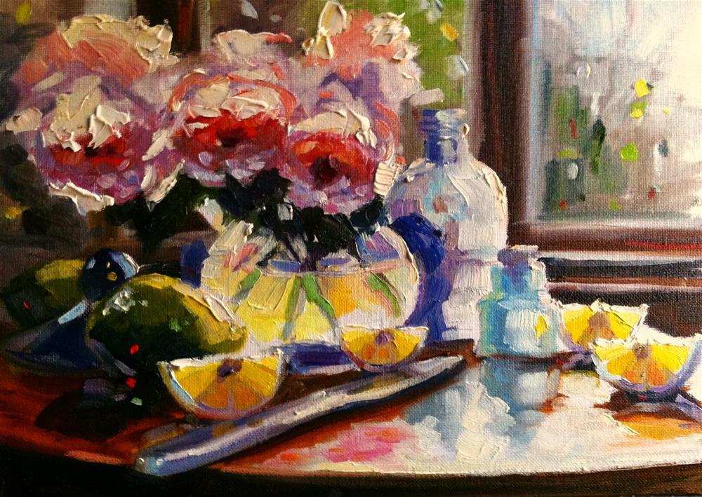"""TANIA SE VENSTER"" original fine art by Cecilia Rosslee"