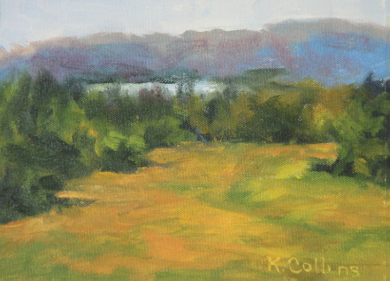 """Seranak"" original fine art by Kathy Collins"