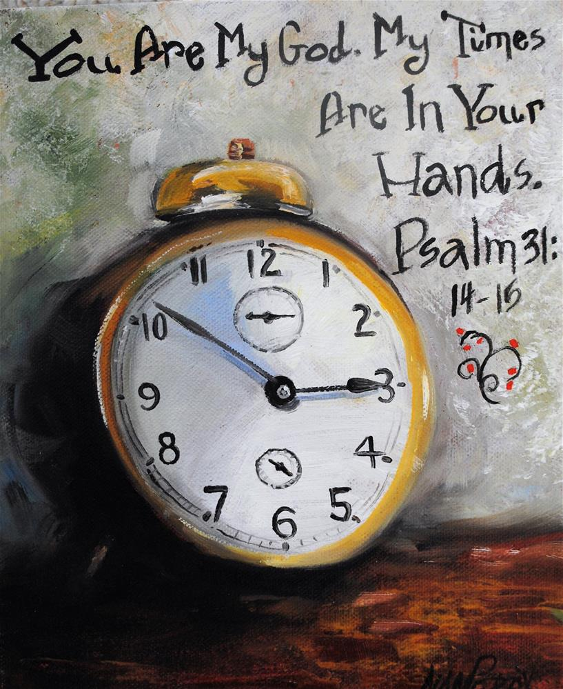 """God's Time"" original fine art by Nan Perry"