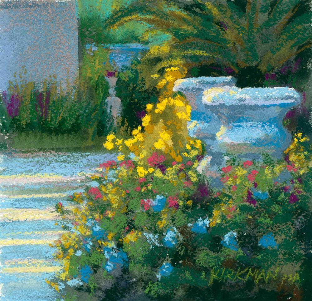 Spring Garden original fine art by Rita Kirkman